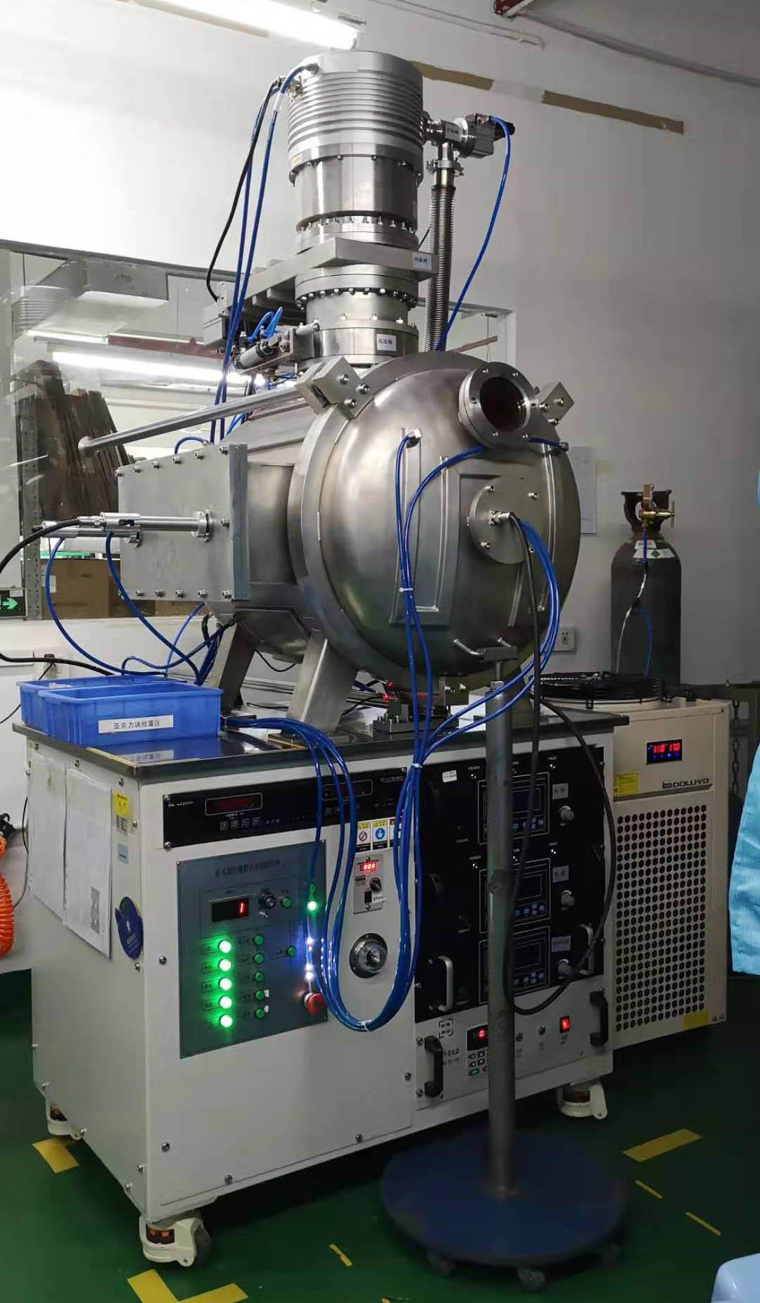多靶磁控滚筒镀膜机